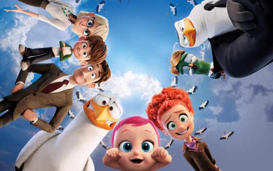 storks, movies, movie, анимация, best, baby,