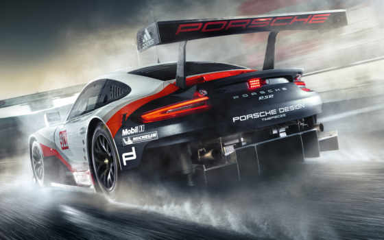 porsche, rsr, racing, car, mid, race, изображение,