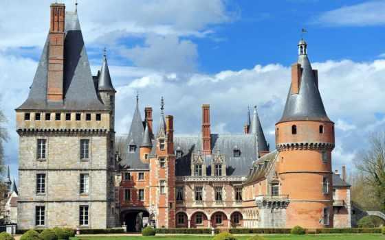 maintenon, château, франция, des, dans, commune, eure,