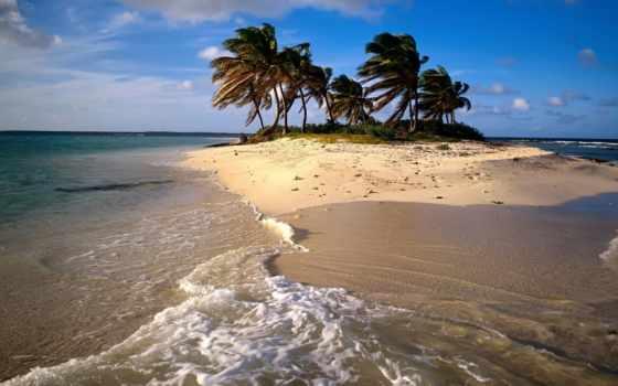 anguilla, остров, caribbean, песчаный, природа, desktop,