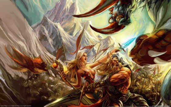 fantasy, битва, битвы, чародейка, магия, runes, картинка, изображение, девушка, игры,