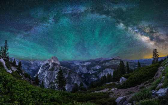 park, national, yosemite, секвойя,