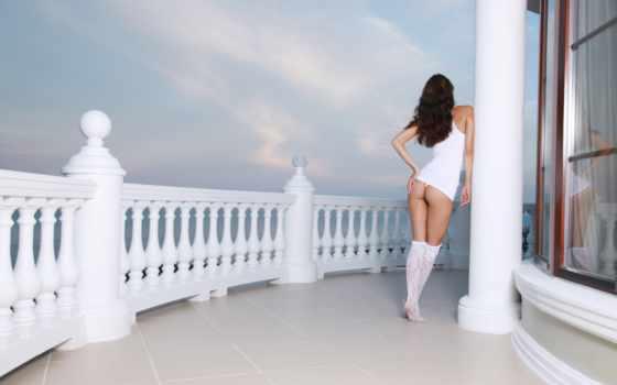 девушка, print, стена, плакат, sexy, hot, brunette, попы, marble, бетона,