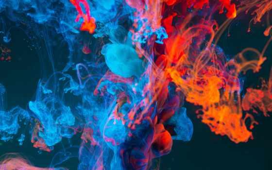 abstract, colorful, дым, фон, который, эти, планшетный, ноутбук, favorite, краска, art