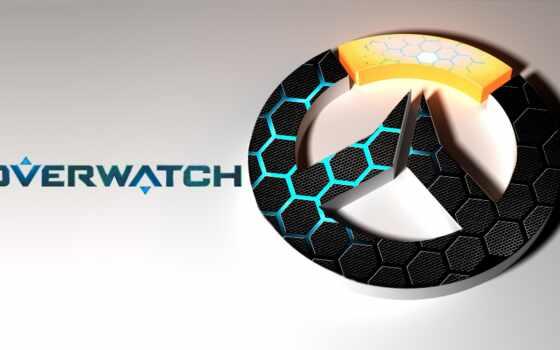 overwatch, logo, game, текстура, девушка, minimal, ручной