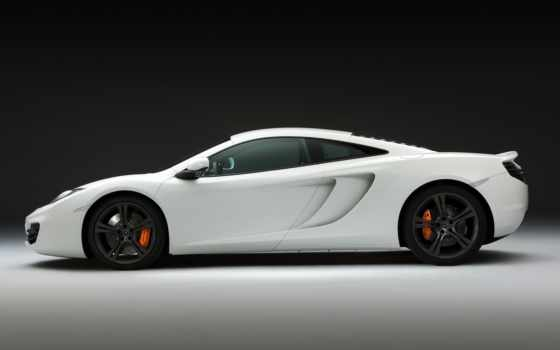 mclaren, white, cars, car, auto, supercar, supercars,