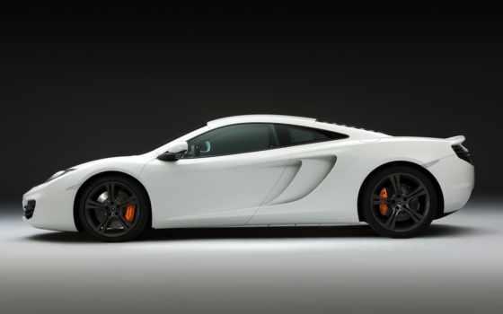 mclaren, white, cars