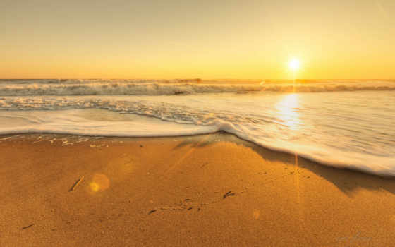 пляж, waves, взгляд, cayo, много, tagged, песок,