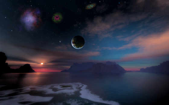 strange, system, lightdrop, abyss, deviantart, landscape
