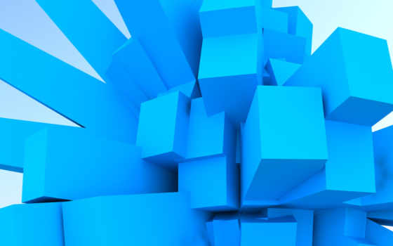 würfel, blaue