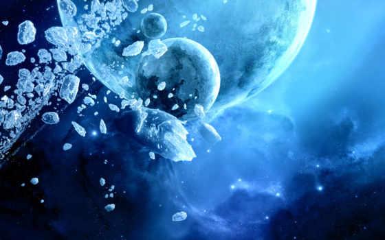 планеты, столкновение Фон № 24794 разрешение 1920x1200