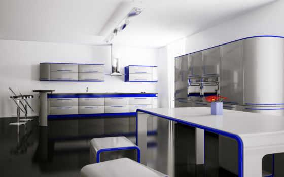 интерьер, кухня, без