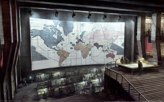 bunker, американский, secret, map,