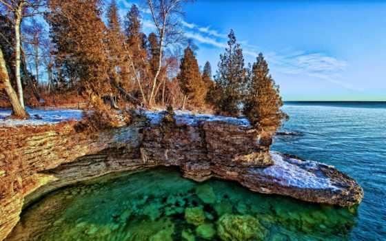 michigan, озеро, jezioro, state, tapety, pinterest, this,