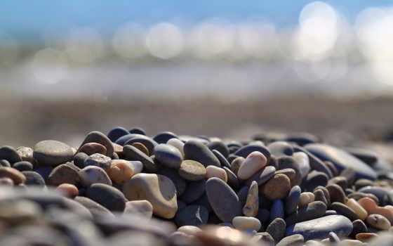 природа, камни, галька, морская, full,