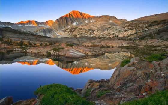 lakes, озеро, yosemite, charts, sierra, природа, california, ten, музыка,