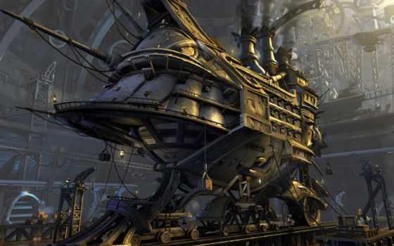 steampunk, science, фантастика, fantasy, развернуть, subgenre,