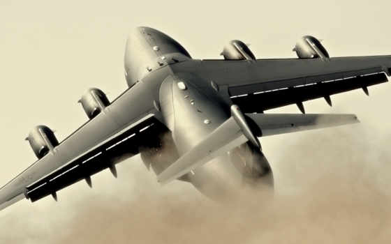 военный, самолет, aircraft, hercules, lockheed, plan, take, off, extreme,