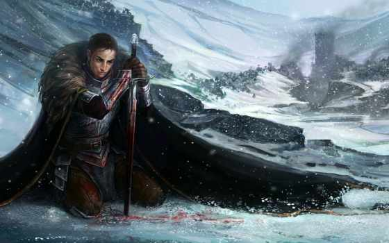 фэнтези, winter, картинка