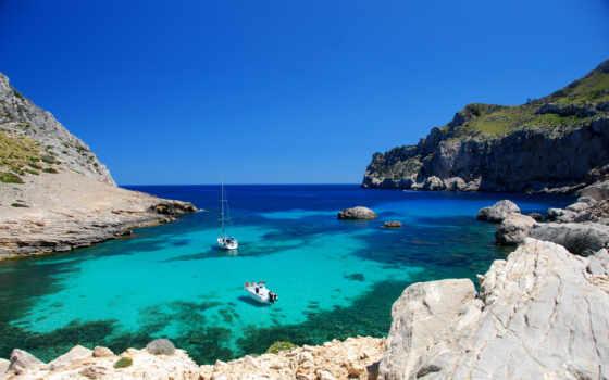 тайланд, море, ocean, лодка, взгляд, июня, праздник, cliff,