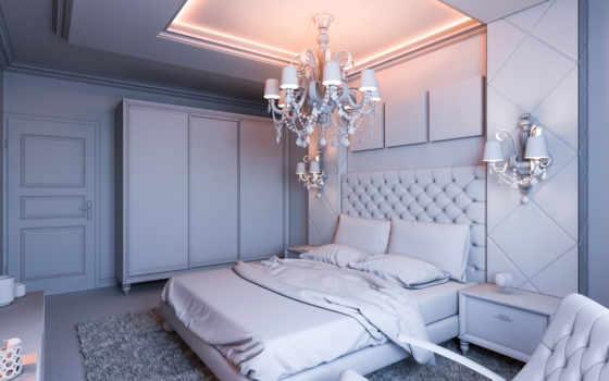 интерьер, спальня, картинка, design, спальни, free, лампа, без, photos,