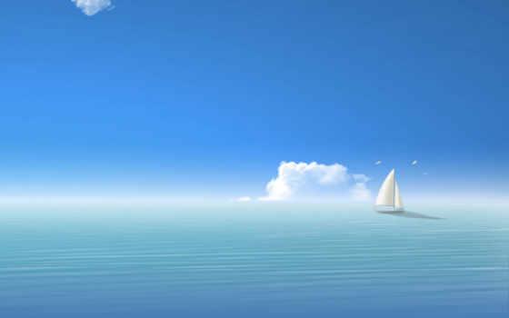 sea, ships