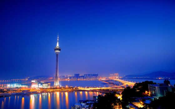 город, china, аомынь