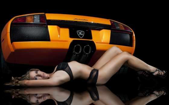 lamborghini, girls, девушка, cars, sexy, часть,