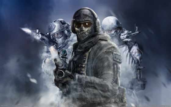 колл, duty, современный, ghost, warfare, cod, mw, гоуст, гулаг, винтовка,