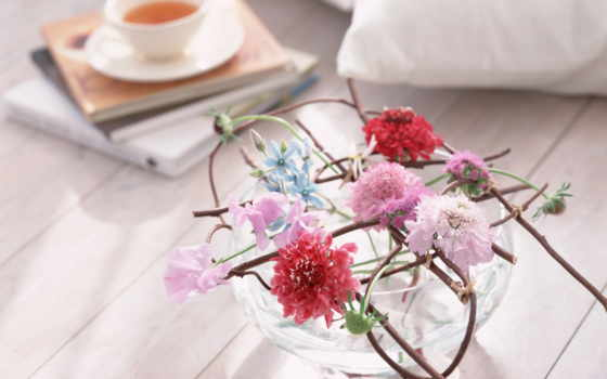 cvety, композиция, цветов, flowers, композиций, ваза, стиль,