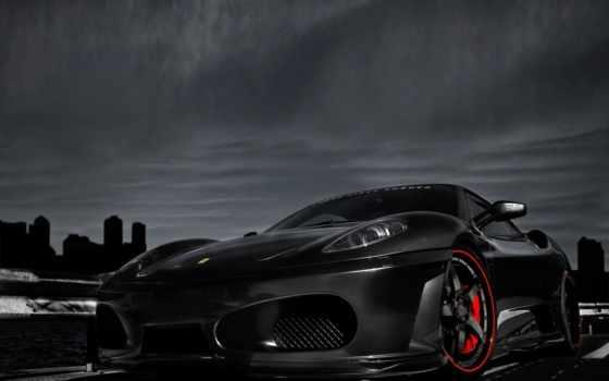 ferrari, black, машины, тюнинг, авто, коллекция, cars, черная, daler, яndex,