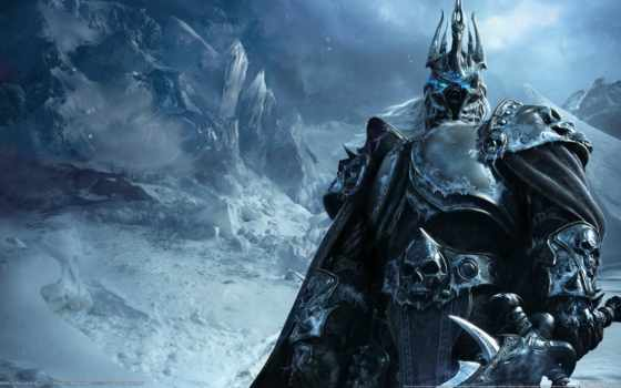 warcraft, king, world, лич, wrath,