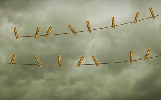 небо, веревка