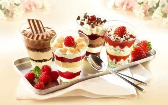 десерт, мороженое, еда, малина, десерты, сладкое, pack,