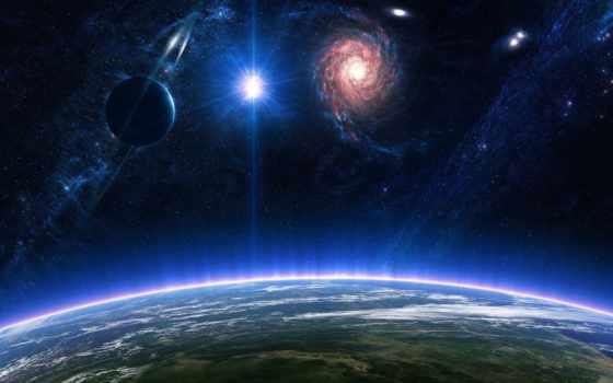 cosmos, planet, атмосфера, star, звезды, гладь, desktop,