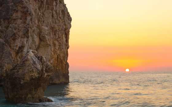 pozadine, slike, stijene, ljeto, info, najbolje, море, vektor, smanjivati,