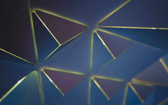 abstract, triangles, desktop