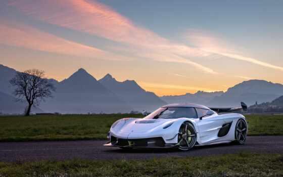 new, гиперкар, company, build, white, swedish, бренд, car, similar, но, chiron
