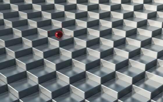 мяч, кубик, rendering, square, free, текстура, стена, графика, абстракция, город, рисунок