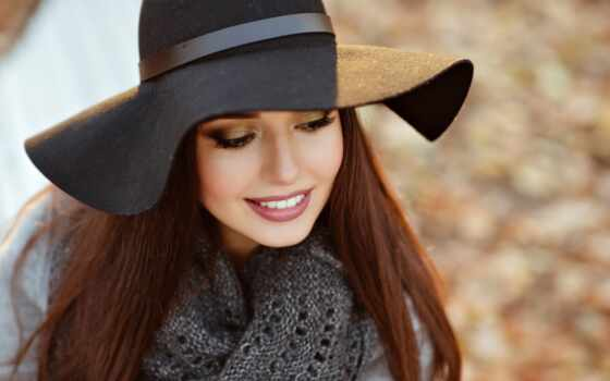 девушка, шляпа, красивый, молодой, фотоколлаж, фото, arm, stylish, улыбка, мама, poshagov
