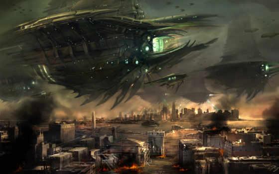 london, alien, люди, invasion, live,