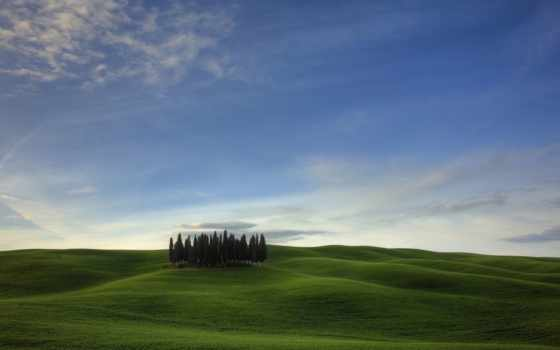 tuscany, resolutions, widescreen, пасмурный, природа, places, winter,