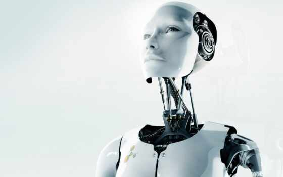 robot, механизм, white