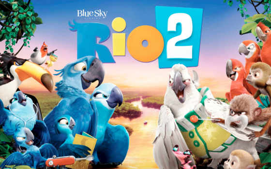 rio, movie, blue