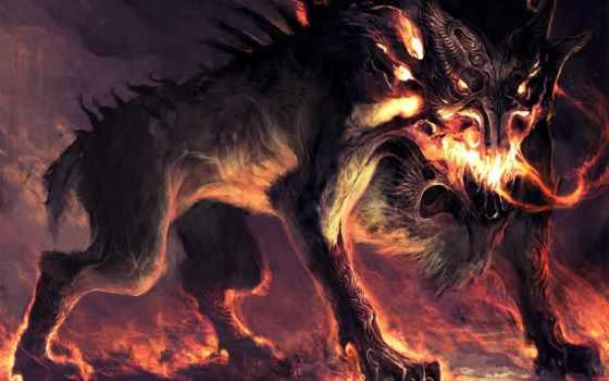 infernal, собака, одного, почти, каждой, области, живет, например,