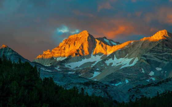 горы в закате Фон № 61670 разрешение 2048x1360