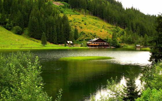 природа, горы, река Фон № 101088 разрешение 1920x1200