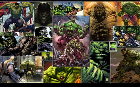 hulk, wolverine, desktop