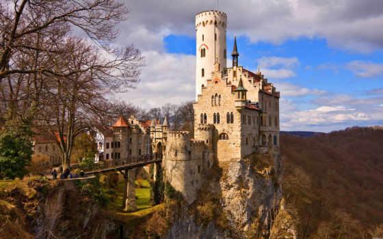 castle, старый, располагался, map, но, исторически, красивые, рухнул, после, мира,