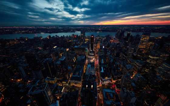 город, new, york, нью, iphone, закат, страница, города,